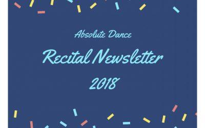 Recital Newsletter 2018
